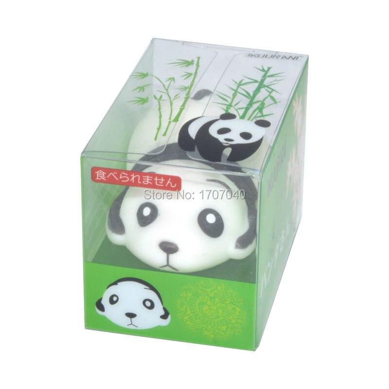 2017 Новый Ikuurani Оригинал Япония Симпатичные Mr. Panda Моти Squeeze 7.5 см Эластичный Забавный Малыш Игрушки Hot