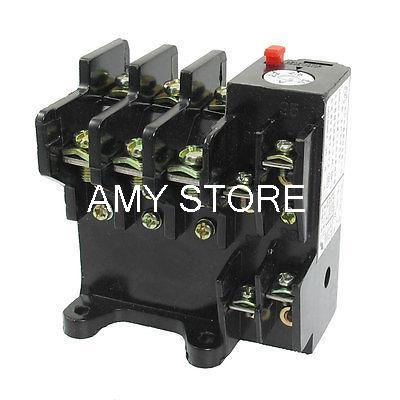 AC 690V 3.5A 3 Pole Motor Protector Thermal Overload Relay 1NO 1NC JR36-20 2 pin thermal overload protection