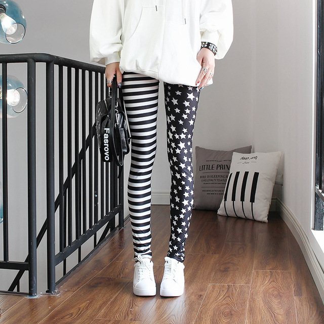 Fashion Leggings Sexy Casual Highly Elastic and Colorful Leg Warmer Fit Most Sizes Leggins Pants Trousers Woman's Leggings 6