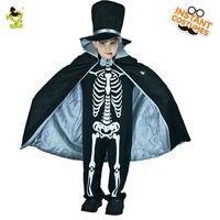 Ragazzi Sanguinante Spaventoso Scheletro Duke Costumi di Halloween Del Partito di Travestimento Cosplay Fancy Dress Bambini Horror Abbigliamento Per La Festa di Carnevale