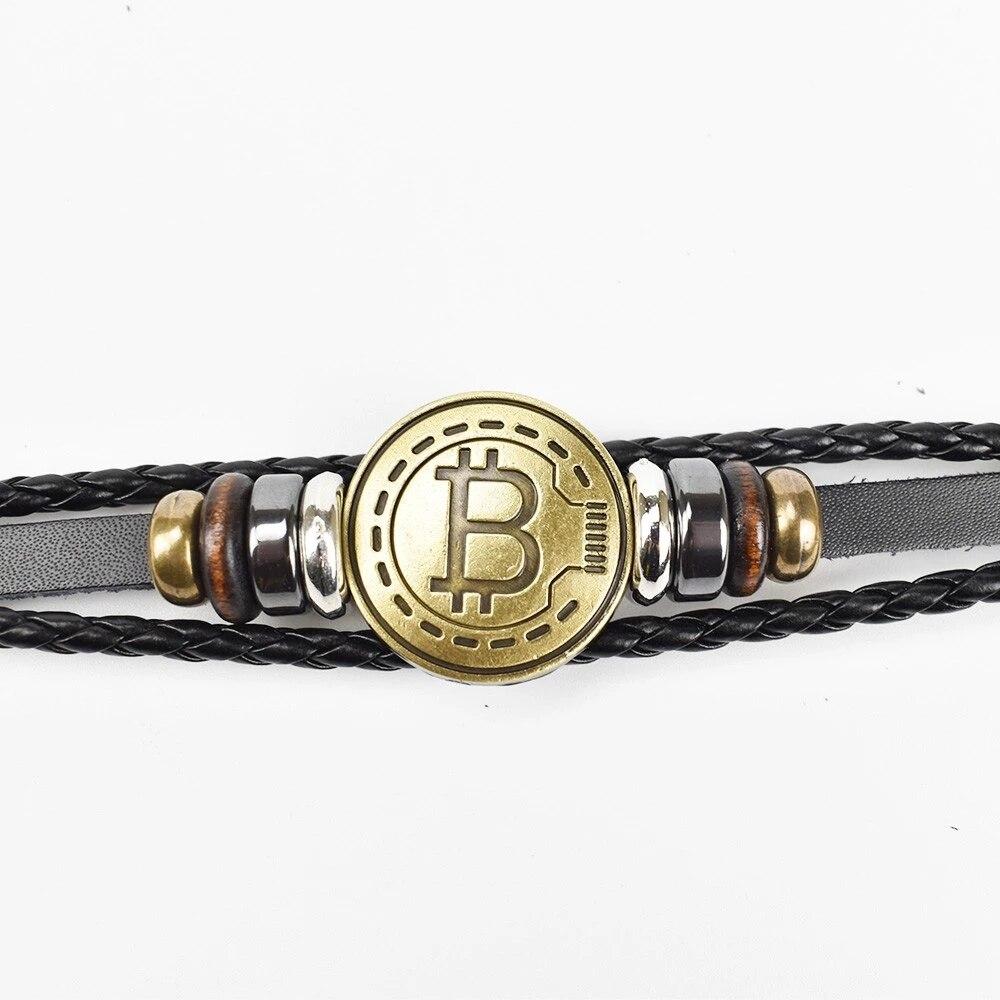 Bitcoin Antique Bracelet 1