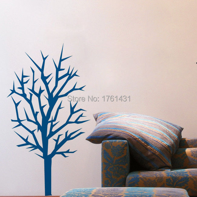 Winter Tree wall decal home decoration wall art decals living room wallstickers children party decoration