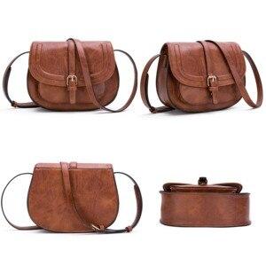 Image 2 - Модная сумка через плечо AFKOMST и маленькая сумка кошелек для женщин, винтажная Сумка седло и сумка через плечо высокого качества CT20154