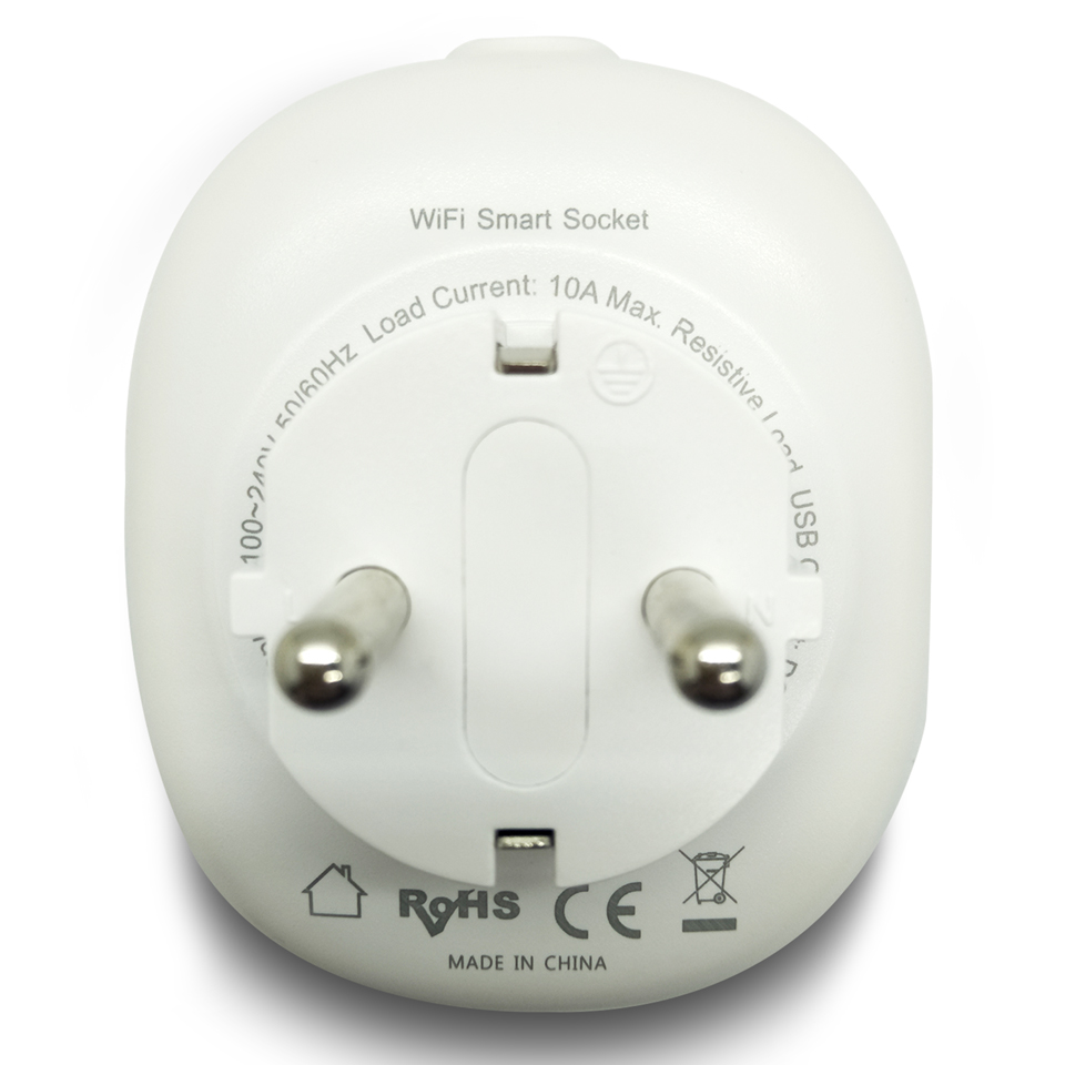 Image 2 - Russian Eu Wifi Plug Adapter Tuya Smart Socket With USB Charging Port Smart Google Home Wireless Remote Control Electric Plug