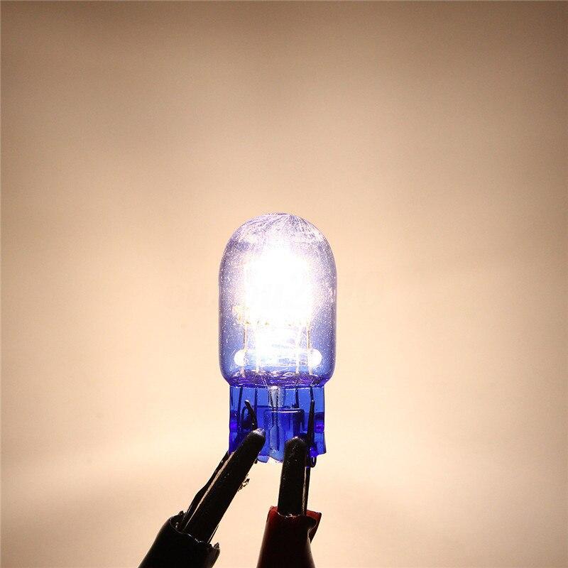 2018 2pcs T20 7443 W21/5W Halogen White DRL Turn Signal Stop Brake Tail Light Bulb Car Lamp Light Headlight Bulbs
