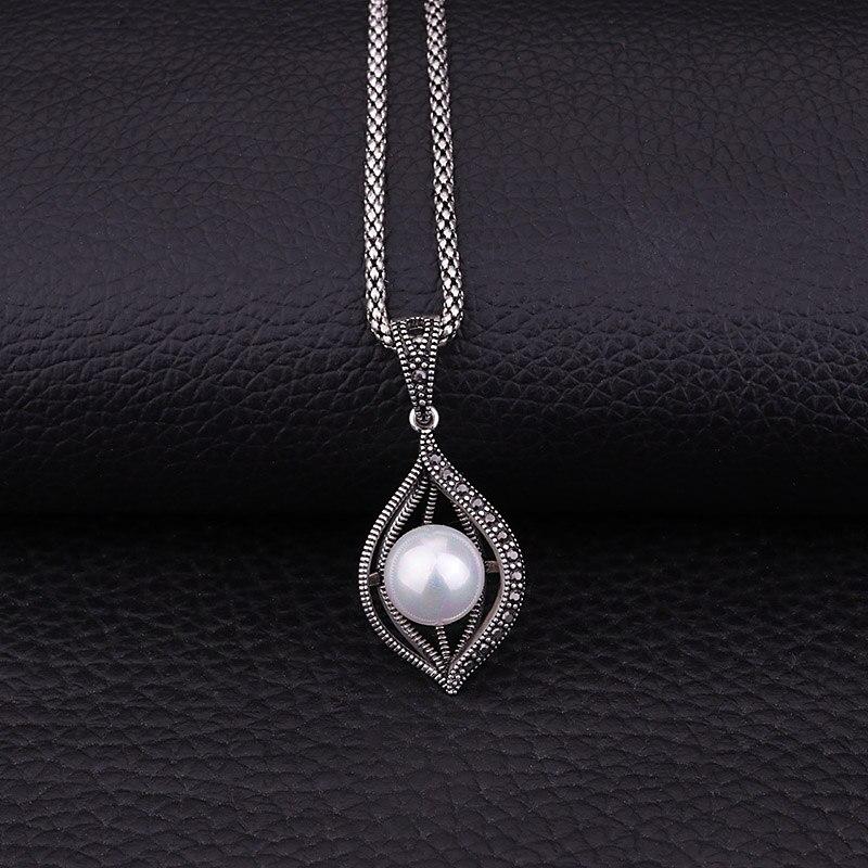 Feelgood conjunto de joyas de perlas de imitación de color plata de - Bisutería - foto 2