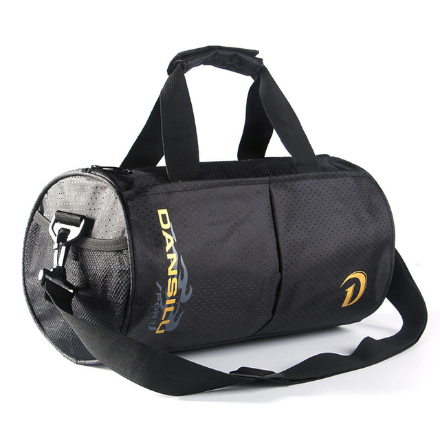 Sports Nylon Women Gym Bag Professional Outdoor Men Women Gym Handbag Hot  Female Training Shoulder Bag Mini Bag 35 19 19cm