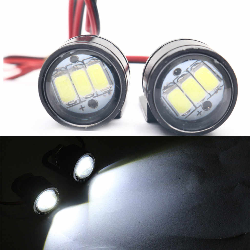 Motorcycle Led Light 1W 12V Motorcycle Eagle Eyedled Lights Modified Lamp Accessories 50LM LED Mirror Headlights Car styling