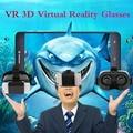 VR 3D Профессиональный Очки Виртуальной Реальности Для Android И IOS Для От 4.7 До 6 Дюймов Смартфон С Черной Тканью
