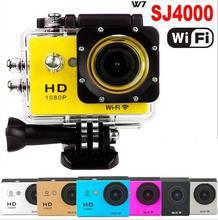 Wholesale Hot Sale SJ4000 Wifi W7 Sport Camera 1080P Full HD DVR Underwater 30M Waterproof Digital Camera Mini Camcorder