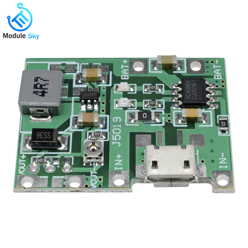 2019 Fashion Mcp73871 Power Boost Usb 5v Dc Solar Lipoly Lithium Lon Polymer Charger Board 3.7v 4.2v Battery Charger Module Active Components Integrated Circuits