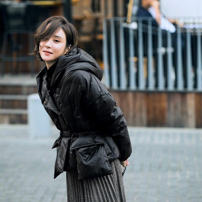 Chaud Beige Vers black D'oie Femelle Wq788 Boutonnage Manteaux Manteau Le coffe Épais De blue Duvet Capuche Luxe 90Réel À Qualité Double Bas D'hiver WroCdBxe