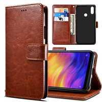 Etui Xiaomi Redmi 7 étui Redmi 7 étui Flip portefeuille en cuir synthétique polyuréthane couverture arrière étui de téléphone pour Xiaomi Redmi 7 Redmi7 Note 7 Note7