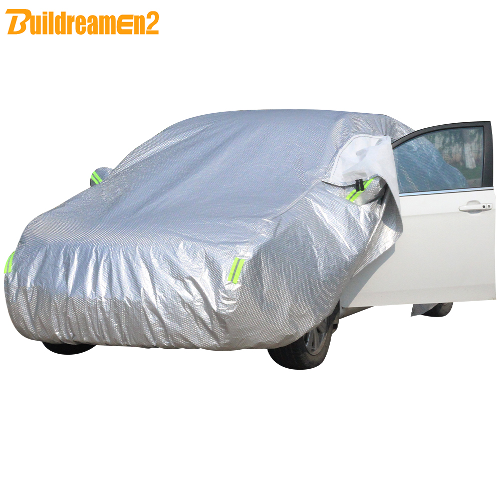 Weatherproof Car Cover Protect From Rain Snow Hail UV Rays Sun Size S