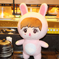"[PCMOS] 2017 New KPOP EXO LAY Issing Cute Pink Bear 20cm/4"" Handmade Plush Toy Stuffed Doll  Arcade Prizes 16071313"