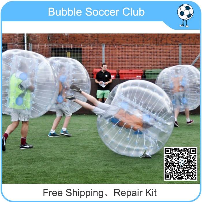Free Shipping 1.0mm TPU Free LOGO Bumper Bubble Ball Suit, Bubble  Football,Bumper Ball ,Bubble Boccer,Zorb Ball,Loopy Ball