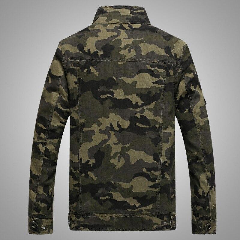 Տղամարդիկ Bomber Jacket Աշուն / Ձմեռ - Տղամարդկանց հագուստ - Լուսանկար 2
