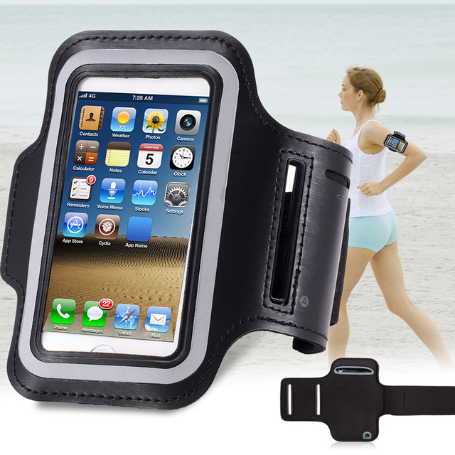 innovative design 6f0b5 9321e US $7.78 |S5 Mini Waterproof Sports Running Arm Band Leather Brush Case For  Samsung Galaxy S5 S4 S3 Mini Holder Hand Arm Bag Band GYM on ...