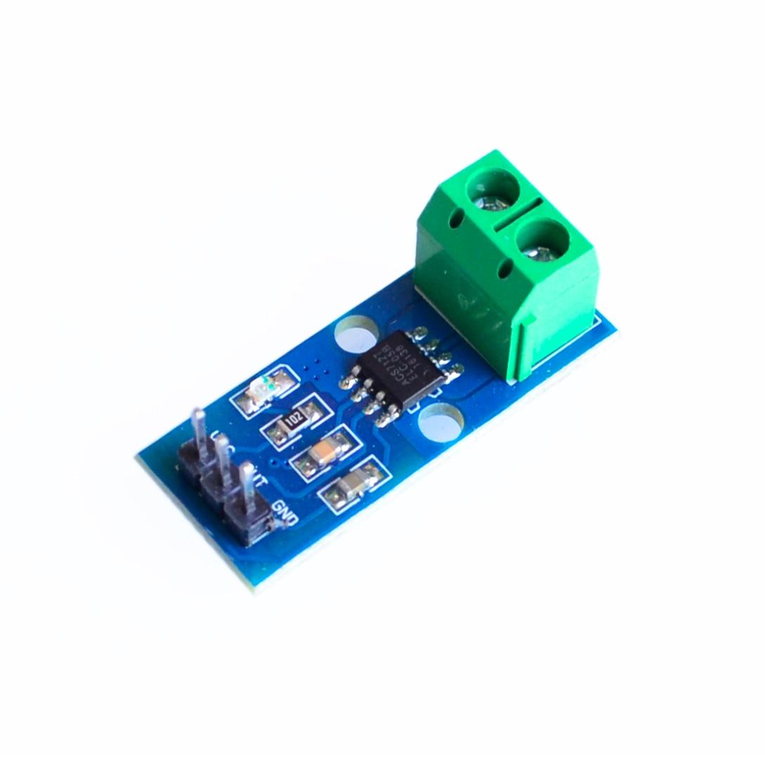 1PCS NEW ACS712 5A 20A 30A Hall Current Sensor Module ACS712 Model For Arduino