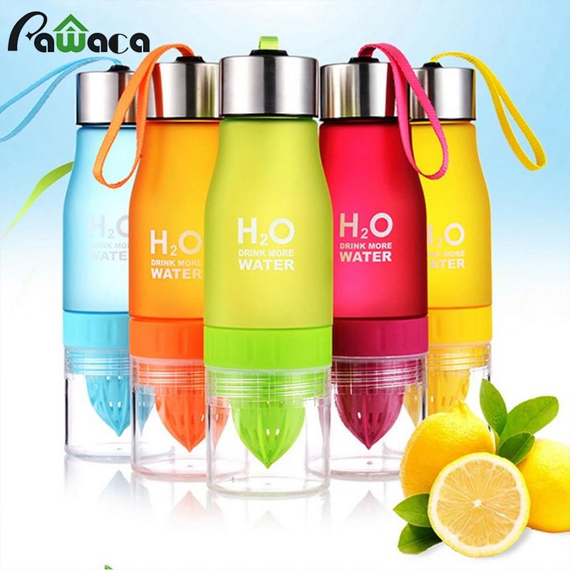 Lemon Bottle Citrus Juice Water Bottles H2O Fruit Juice Infuser Bottle for Lemon Water/Iced Tea/Lemonade Portable Outdoor Sport бутылка для воды h2o