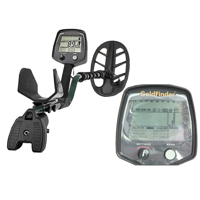 2015 Newest GF2 Metal Detector Underground with LCD Display Gold Metal Detector Treasure Hunter Free Shipping deep metal detector sale limited 2017 newest md 3010ii underground gold metal detector with lcd display gold treasure hunter