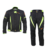 Professional Men S Motorcycle Motocross Off Road Racing Jacket Body Armor Riding Pants Clothing Set Summer
