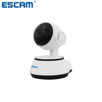 цена на ESCAM G10 720P IP Wireless Camera Support Motion Detection H.264 Pan/Tilt Support 64G TF CARD Mini Wifi Night Vision IP Camera