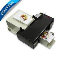 Цифровой для Epson CD принтер DVD диск печатная машина автоматическая ПВХ карты принтеров для Epson L800 с 50 шт. CD/ПВХ лоток