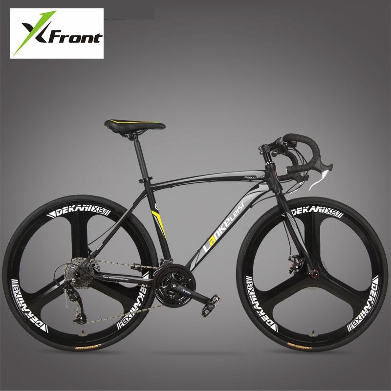 New Brand Road Bike Carbon Steel Frame 700CC Wheel 21 27 font b Speed b font
