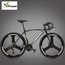 New Brand Road Bike font b Carbon b font Steel Frame 700CC Wheel 21 27 Speed