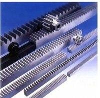 Free Shipping 3pcs Mod 1 12x12x1000mm cnc rack +3pcs 1mod 17teeth pinion cnc rack 17tooth gear