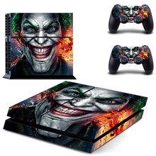Batman & Joker Decal PS4 Skin Sticker For Sony Playstation 4 Console +2Pcs Controllers 15 styles