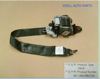 WEILL 5811200-K80-00A seat belt for great wall haval H5