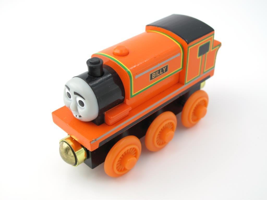 Wooden Thomas Train T015W BILLY Thomas And Friends Trackmaster Magnetic Tomas Truck Car Locomotive Engine Railway Toys for Boys