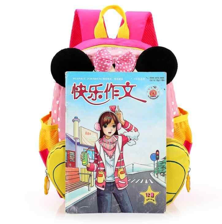 52917c921f ... Hot Cartoon mickey children backpacks kids kindergarten backpack kid  school bags Satchel for ...