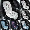 TECHWILL Universal Car Seat Cartoon Seat Cover Cute Creative Auto Seat Cushion Comfortable Seat Back Lumbar