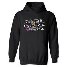 Stranger Things Logo Hoodies