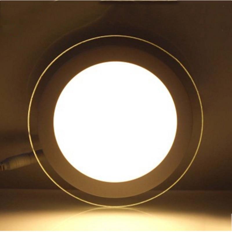 SPLEVISI Dimmable 6W 12W 18W LED Panel Downlight Round Glass Glass - Ներքին լուսավորություն - Լուսանկար 2