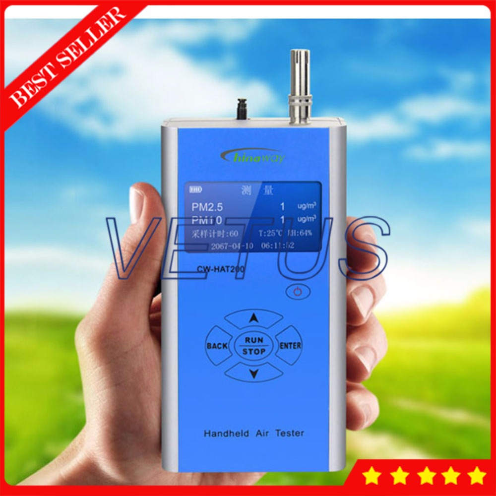 Handheld Portable Particle Counter CW-HAT200 pm2.5 pm10 Meter Detector with Indoor Outdoor Air Quality Monitor Measure Device handheld laser portable high quality indoor air quality detector page 6