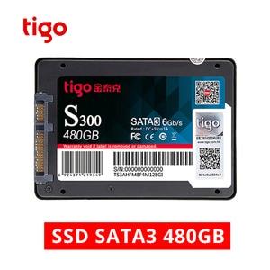 Image 1 - Tigo SSD 480GB SATA 2.5 inch Internal Solid State Drive for Desktop Laptop PC Hard Drive Disk 480 GB HDD Warranty 3 year