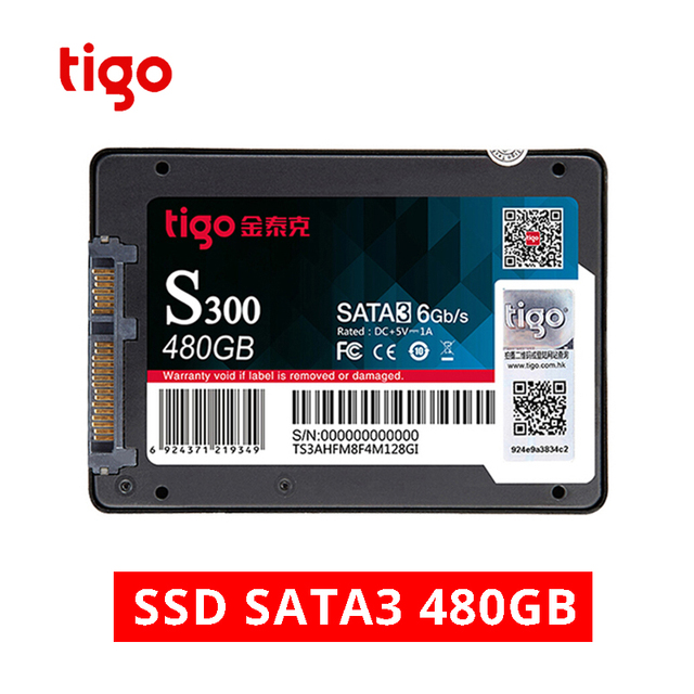 Tigo SSD 480GB SATA 2.5 inch Internal Solid State Drive for Desktop Laptop PC Hard Drive Disk 480 GB HDD Warranty 3 year