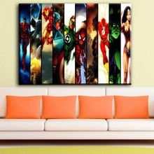 ФОТО ZZ469 Marvel Movie Manway Comics hero Iron Man Batman Deadpool Poster Image Art Print Canvas Mural Children Bedroom