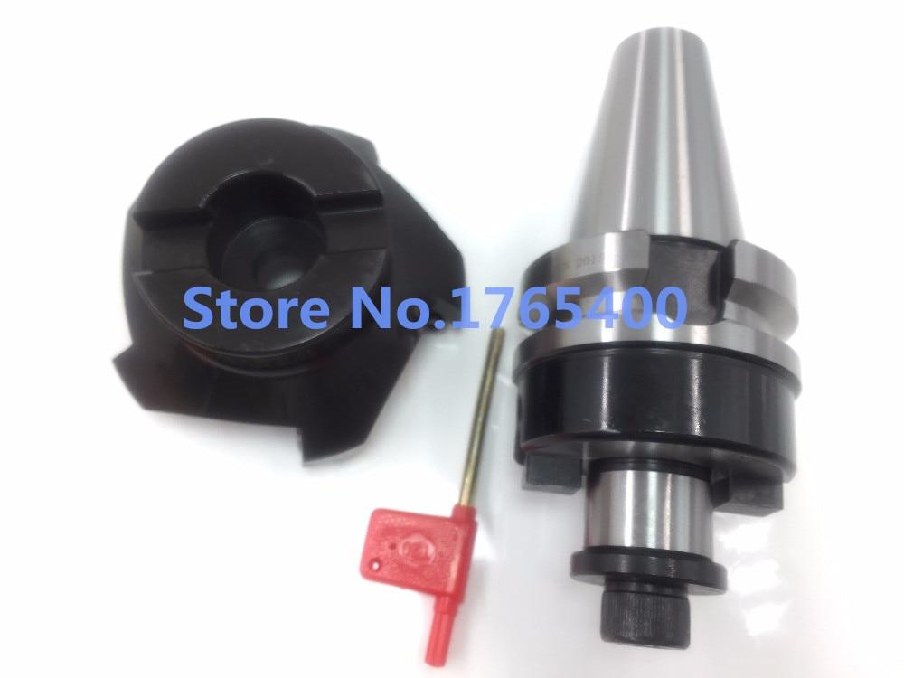 New BT40 FMB22 45mm M16 holder+ SE-KM12-45 degree face mill cutter KM12 50-22-4T + 10pcs SEKT1204 steel carbide inserts цена
