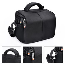 fosoto Camera Bag Fashion Shoulder Bag Camera Case For Canon Nikon Sony DSLR Lens Pouch Bag Waterproof Photography Photo Bag(China)