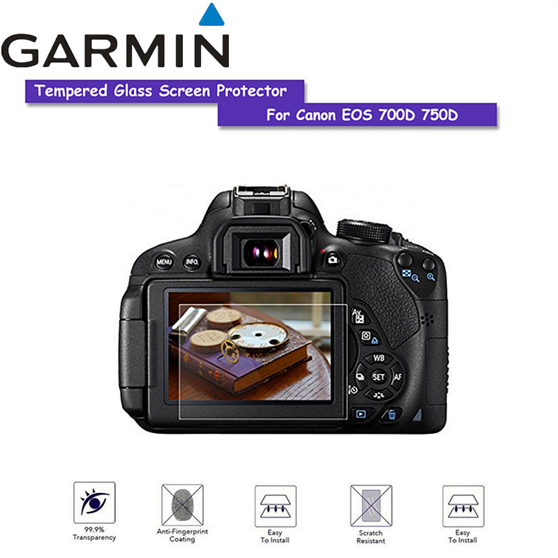 Tempered glass screen protector Glass for Canon EOS 760D 700D 750D Camera scratch resistant Screen HD glass protective film|AC/DC Adapters| |  - title=
