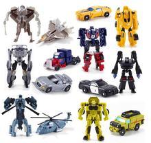 Cool!!! 1 PCS Transformação Crianças Clássico Carros Do Robô Brinquedos Para Crianças Figuras de Ação & Toy frete grátis