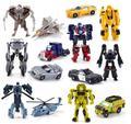 Cool!!! 1 UNIDS Transformación Kids Classic Robot Coches Juguetes Para Niños de Acción y Figuras Del Juguete envío gratis