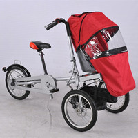 Rain Cover for Baby Stroller Mummy Baby Folding Three Wheels Trolleys Child Taga Bike Strollers Kids Bicycle Stroller Tricycle