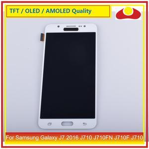 Image 4 - 50 ชิ้น/ล็อตสำหรับ Samsung Galaxy J7 2016 J710 J710FN J710F J710 จอ lcd หน้าจอแผง Digitizer Pantalla ที่สมบูรณ์แบบ