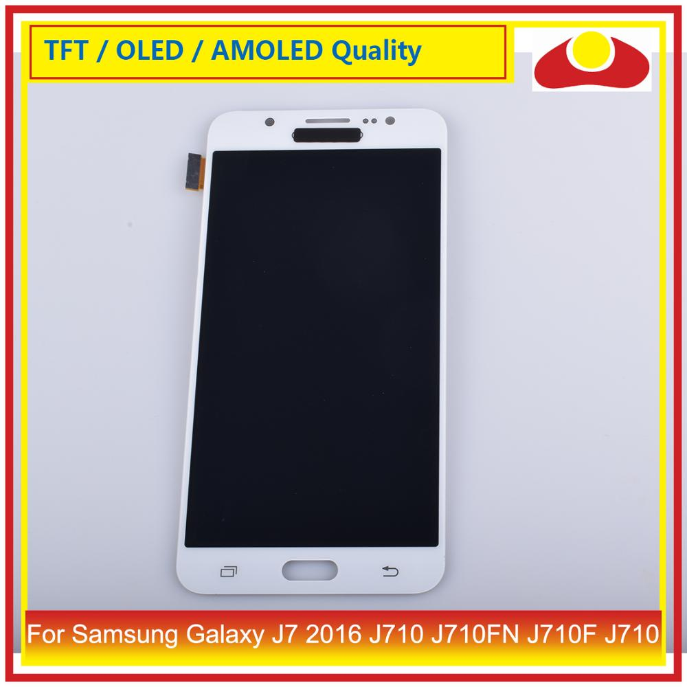 Image 4 - 50Pcs/lot For Samsung Galaxy J7 2016 J710 J710FN J710F J710 LCD Display With Touch Screen Digitizer Panel Pantalla Complete-in Mobile Phone LCD Screens from Cellphones & Telecommunications